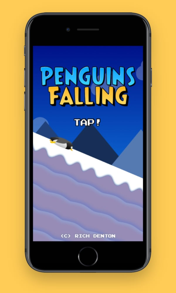 Penguins Falling